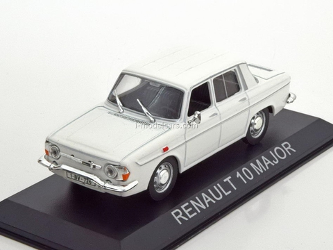 Renault 10 Major white 1:43 DeAgostini Masini de legenda #50