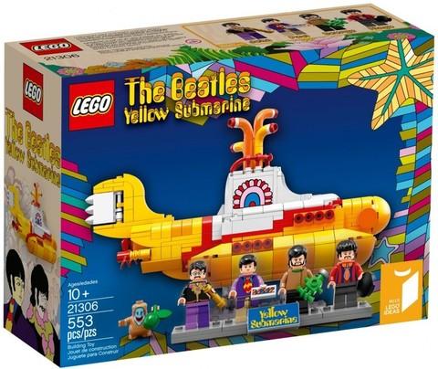 LEGO Ideas: The Beatles: Жёлтая подводная лодка 21306 — The Beatles: Yellow Submarine — Лего Идеи