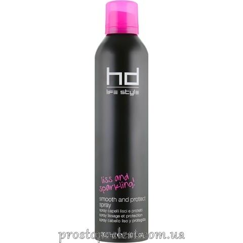 Farmavita HD Smooth And Protect Spray - Сухой термозащитный спрей для выпрямления волос