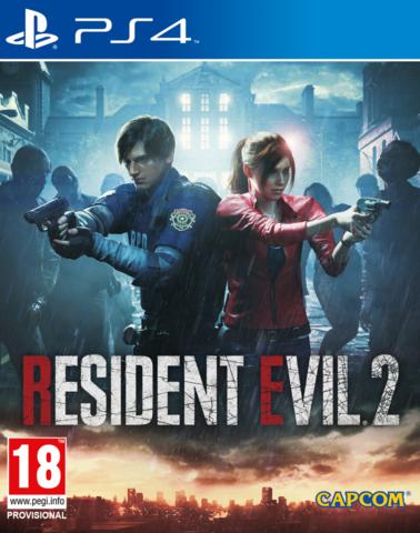 PS4 Resident Evil 2: Remake (русские субтитры)