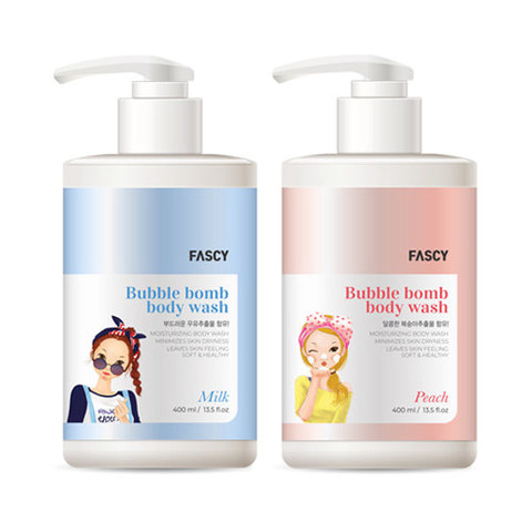 Гель для тела FASCY Bubble Bomb Body Wash 400ml