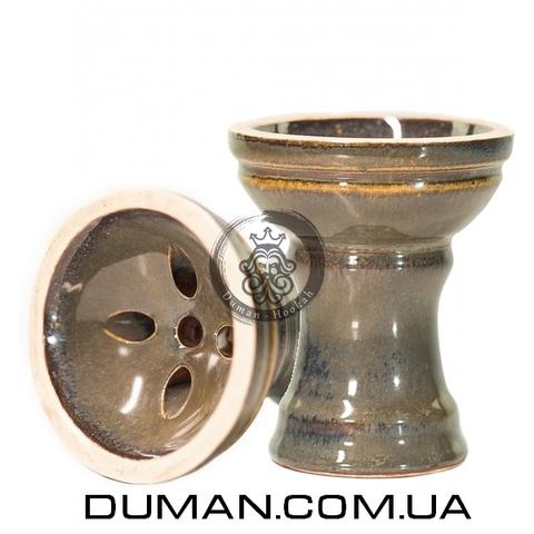 Чаша Gusto Bowls Turkish v2.0 Glaze II (Густо Болс Турка) Зеленый с красным