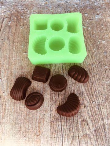 Молд набор Шоколадных конфет