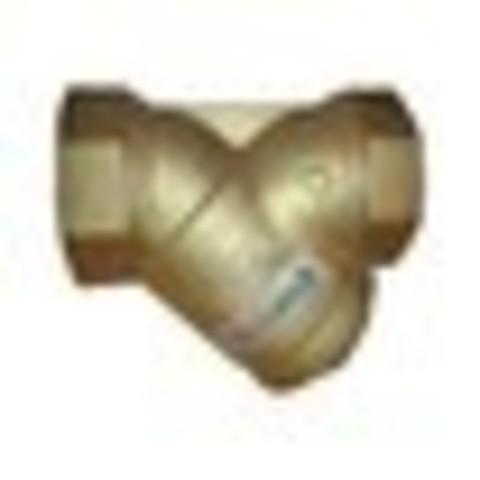 """Фильтр сетчатый Y-образный латунь Ду 40 Ру16 Тмакс=120 oC G1 1/2"""" ВР F1141 Tecofi F1141-0040"""