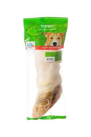 ТитБит нога говяжья резаная большая-мягкая упаковка