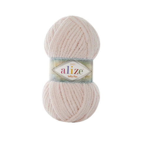 Купить Пряжа Alize Softy Plus Цвет 382 Телесный | Интернет-магазин пряжи «Пряха»