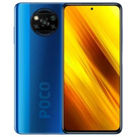 Смартфон Xiaomi Poco X3 NFC 6/128GB Cobalt Blue (Синий)