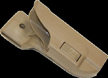 Кобура пластиковая для пистолета ГЛОК 17 Альфа крепление молле Стич Профи