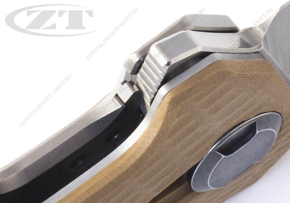 Нож Zero Tolerance 0308 Coyote Tan - фотография