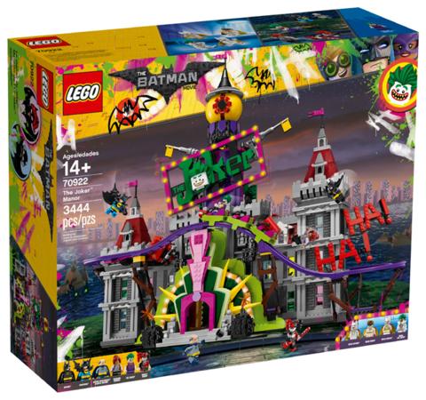 LEGO Super Heroes: Поместье Джокера 70922 — The Joker Manor — Лего Супергерои ДиСи