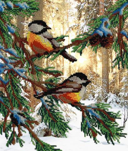 Птички в лесу