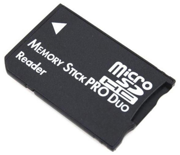 Адаптер microSD Memory Stick PRO Duo