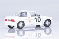 Moskvich-141 KR AZLK-2141 Rally №10 1988 1:43 DeAgostini Auto Legends USSR #242