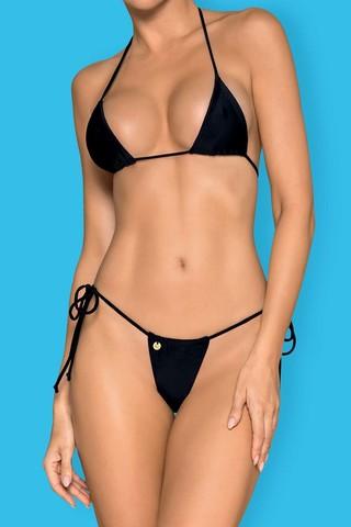 Купальник Bella Vista Micro Bikini Black Obsessive
