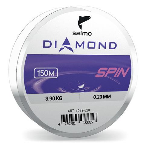 Леска монофильная Salmo Diamond SPIN 150м, 0.22мм