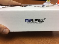3D ручка Myriwell RP100B + 120 м пластика + трафареты