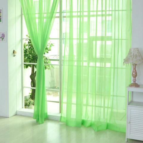 Тюль вуаль на шторной ленте. Зеленый. оптом. Арт. Kv019