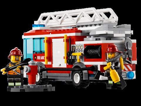 LEGO City: Пожарная машина 60002 — Fire Truck — Лего Сити Город