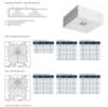 Фотометрические данные светодиодного аварийного светильника IP41 для коридоров Lovato II Awex – черный корпус