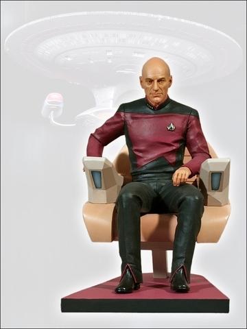 Star Treck - Captain Picard 1:6 Figure || Коллекционная фигурка Капитан Пикард