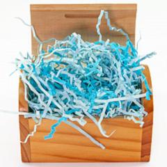 Наполнитель бумажный, Голубой микс, 50 гр