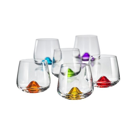 Набор цветых бокалов для бренди «Айлендс», 310 мл