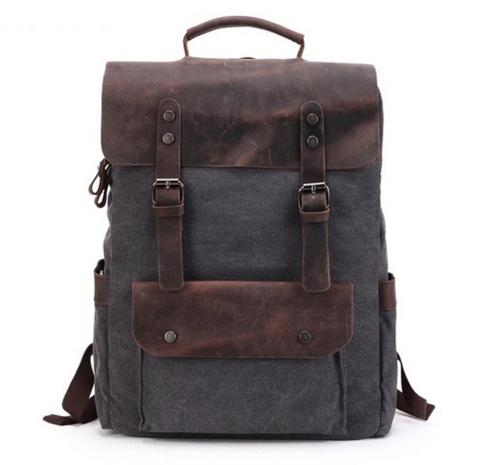 Рюкзак из ткани и кожи BUG 067