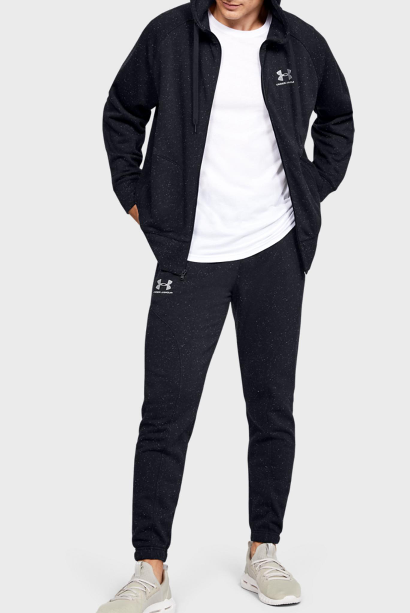 Мужские черные спортивные брюки SPECKLED FLEECE JOGGERS Under Armour