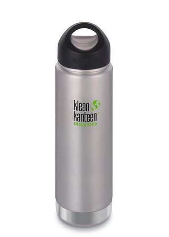 #Термобутылка Klean Kanteen Insulated Wide Loop Cap 592мл Brushed Stainless