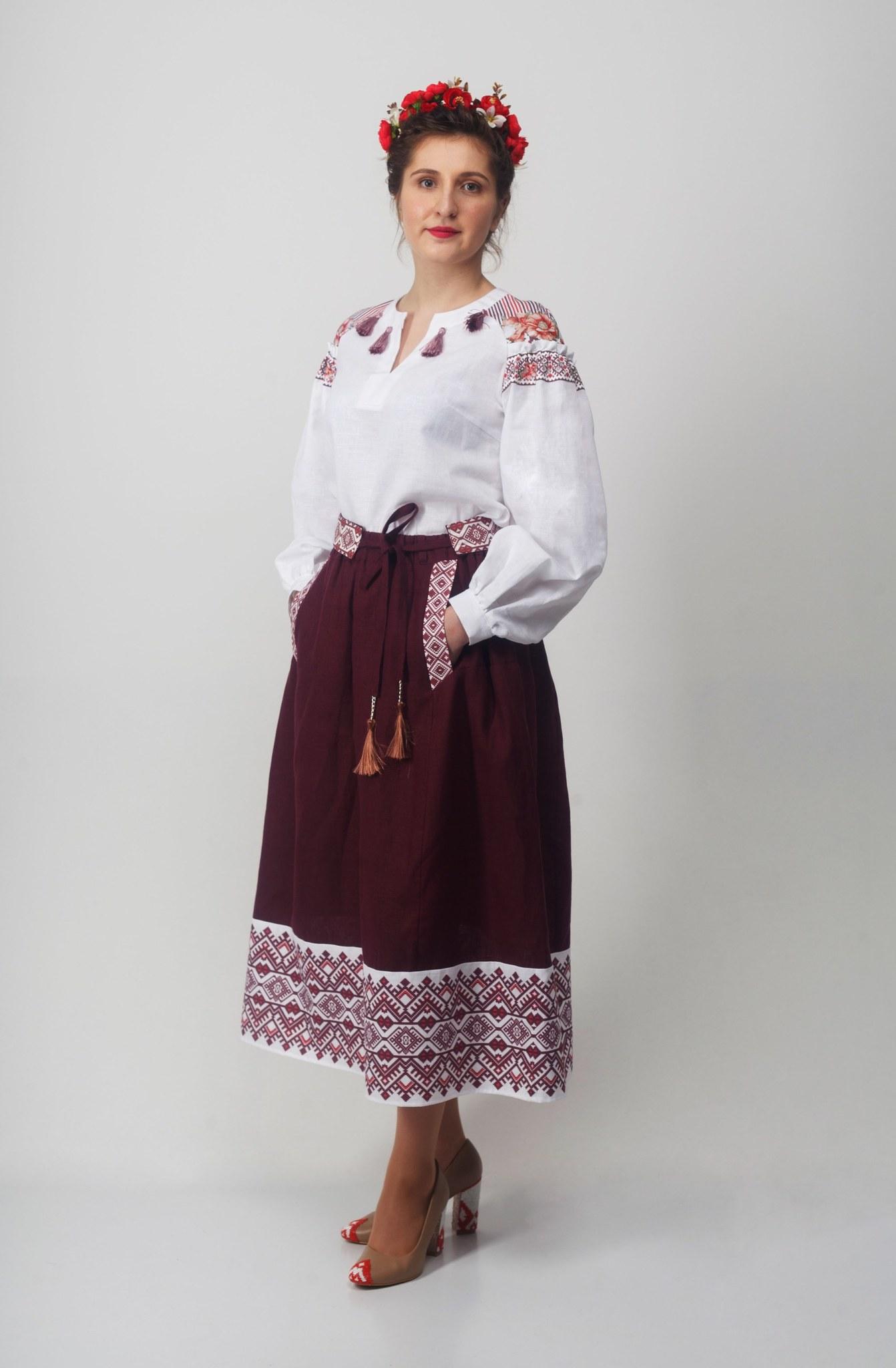 Блуза Дивная 02 с юбкой