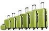 Чемодан с расширением L'case Phatthaya-28 Зеленый (XL)