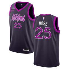 Баскетбольная майка NBA 'Wolves/Rose 25'