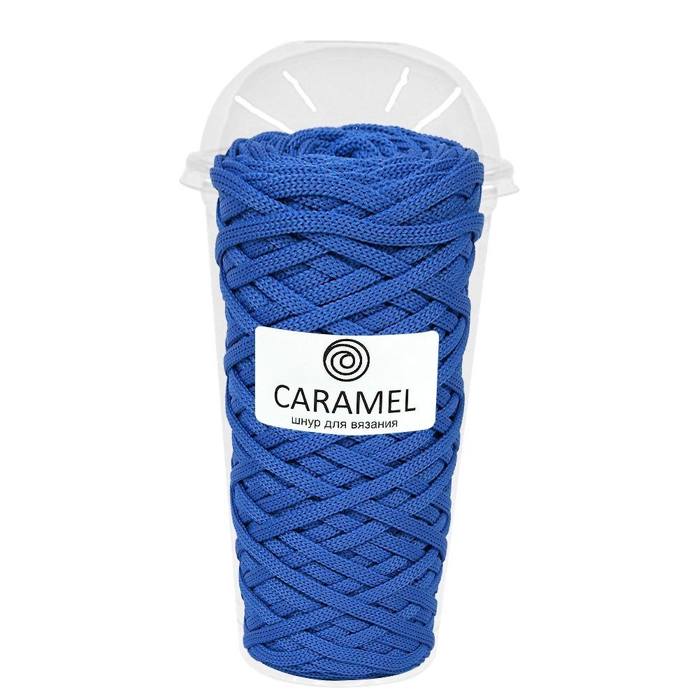 Плоский полиэфирный шнур Caramel Полиэфирный шнур Caramel Аквамарин Аквамарин.jpg