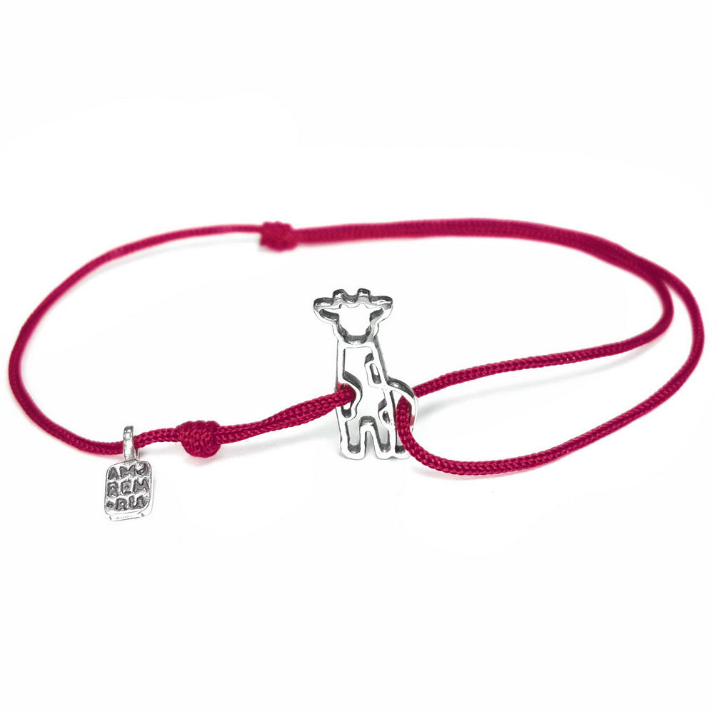 Giraffe bracelet, Sterling Silver