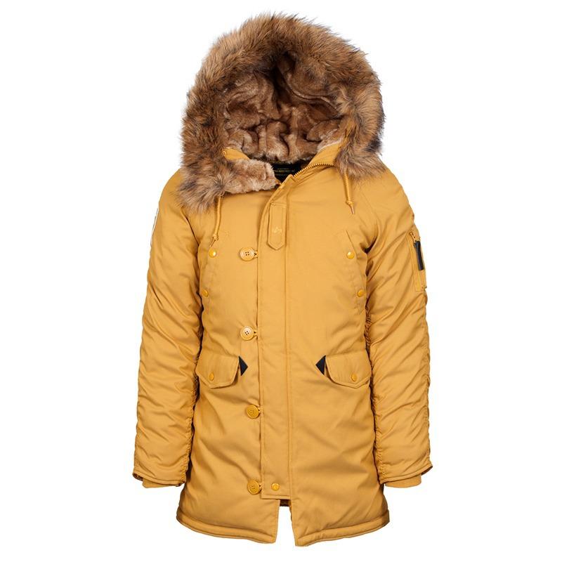 Куртка Аляска Женская - Altitude W Parka  (горчичная - tumbleweed)