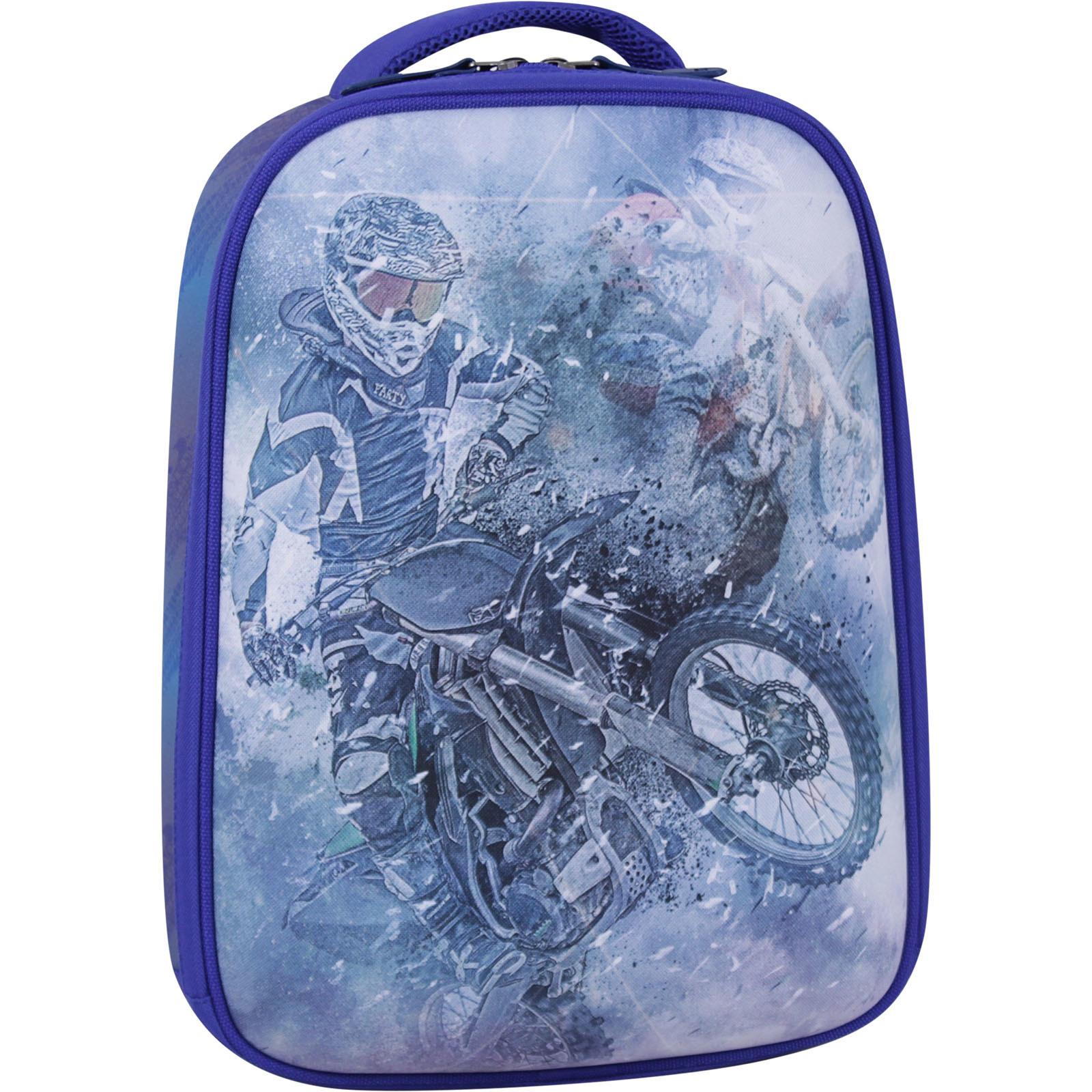 Школьные рюкзаки Рюкзак Bagland Turtle 17 л. электрик 534 (0013466) IMG_2258_суб.534_-1600.jpg