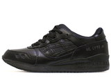 Кроссовки Мужские Asics Gel LYTE III Premium Black Leather