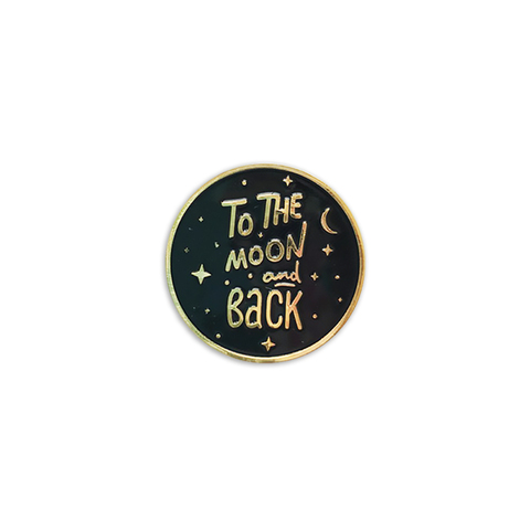 Значок To the moon and back