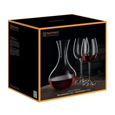 Набор 3 предметов для вина артикул 98057. Серия Vivendi Premium