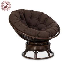 Кресло механическое PAPASAN Gentle (подушка ткань триплированная С26 цвет коричневый)
