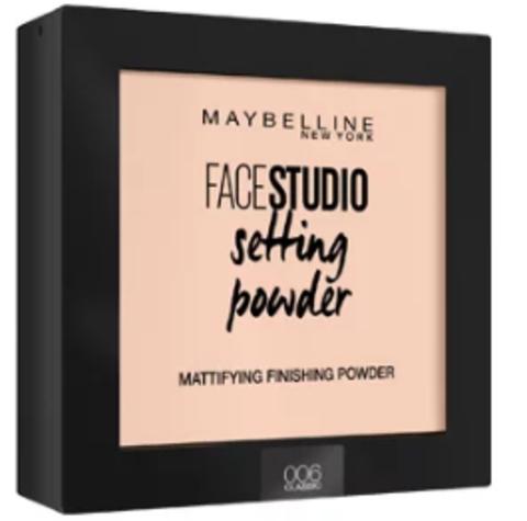 Maybelline FaceStudio Setting powder пудра компактная №006 розово-бежевый