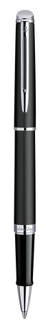 Ручка-роллер Waterman Hemisphere, цвет: MattBlack CT, стержень: Fblack