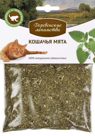 Деревенские лакомства Кошачья мята, 15 г
