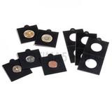 Холдер самокл. черный для монет D до 37.5 mm 50х50