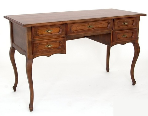 Письменный стол 25 деревянный орех