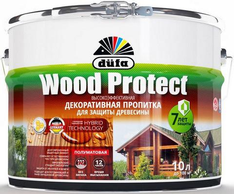 Dufa Wood Protect/Дюфа Вуд Протект пропитка для защиты древесины с воском