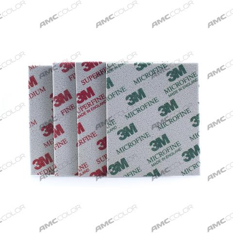 3М Абразивная губка Microfine/Микротонкое зерно
