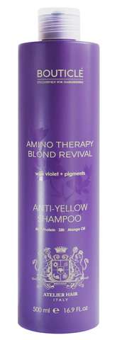 Bouticle Anti-Yellow Shampoo 500 мл
