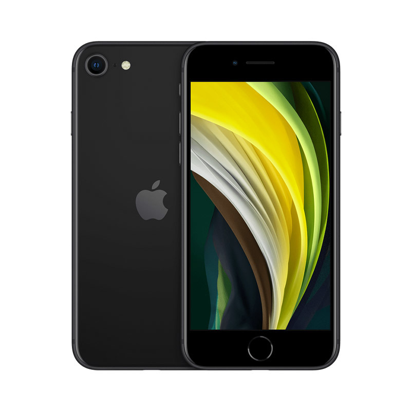 iPhone SE (2020), 64 ГБ, черный