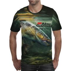 Футболка 3D принт, Рыба (3Д Fish) 25